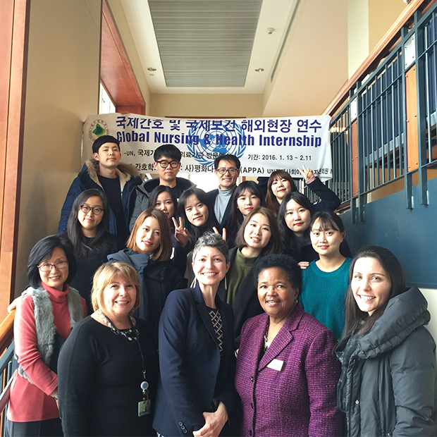 Daegu University School of Nursing students visit SON