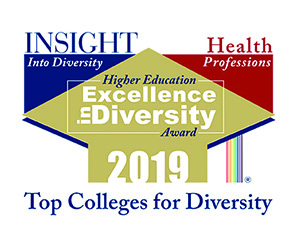 2019 Health Professions Higher Education Excellence in Diversity (HEED) Award from INSIGHT Into Diversity magazine.