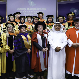 Congratulations to the First U.S. DNP Cohort in Saudi Arabia