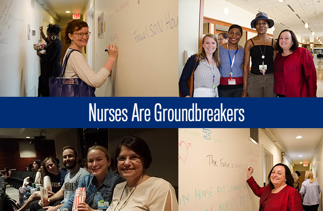 nurses are groundbreakers