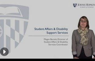 Student Affairs and Disability Support Services