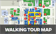 Walking Map - Virtual Tour of Campus and Baltimore