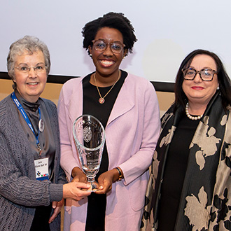 Johns Hopkins School of Nursing (JHSON) alumna and Congresswoman Lauren Underwood has earned the Woodrow Wilson Award for Distinguished Government Service from the Johns Hopkins University.